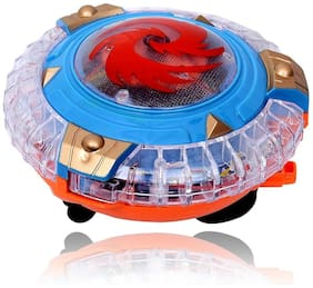 Planet Of Toys Magical Spinning Top With Lights