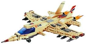 Planet Of Toys J-15 Fighter Building Blocks (270 pcs) For Kids / Children