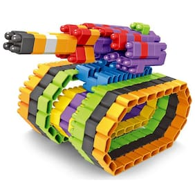 Planet of Toys 240 pcs. Stem Education Series Bullet Blocks