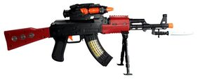 Planet Of Toys Ak-47 Flash Gun