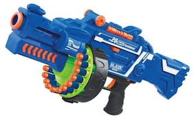 Play pacific Blaze Storm Soft Bullet Automatic Gun, 40 Darts Included for kids (Multicolor)