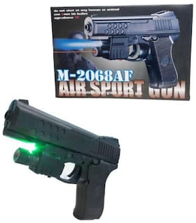 Play pacific Air Sports M 2068 Air Mouser Toy Gun With Laser for kids (Multi Color)