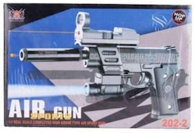 Play pacific Air Sports 202-2 Plastic Action Toy Gun Set with Bullet, Laser & More