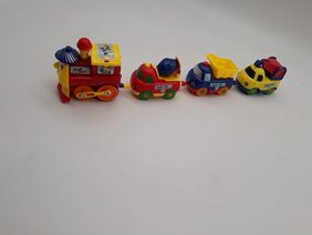 Play Train with Engine & 3 Coaches