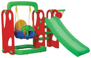 Playgro Super Slide and Swing Combo 216 (Colour May Vary)