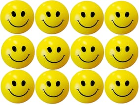 Plutofit  Smiley Face Stress Relieve Squeeze Balls - Set of 12