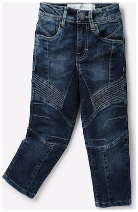 Point Cove By Reliance Trends Blue Boys Jeans