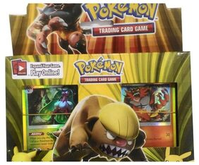 Pokemon Sun & Moon Trading Card Game Set for Kids Board Game