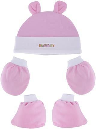 POKORY Unisex Mitten Light weight And Travel Friendly For The Parents. Pink