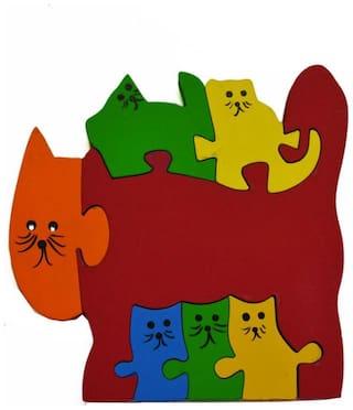 POPART Jigsaw - Kitten Family