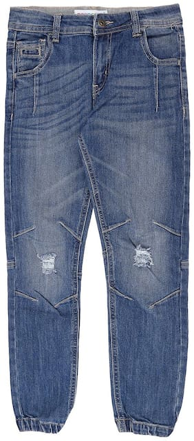 Poppers by Pantaloons Boys Blue Jeans