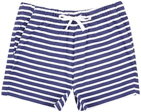 Poppers by Pantaloons Girls Blue Shorts