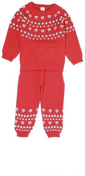 Portobello Baby girl Top & bottom set - Red