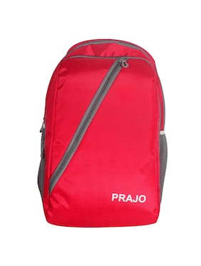 Prajo Vegas Expendable School Bag(Red)