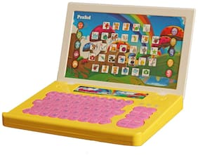 PraSid Kids English Teacher Computer Toy Educational Laptop Multicolor