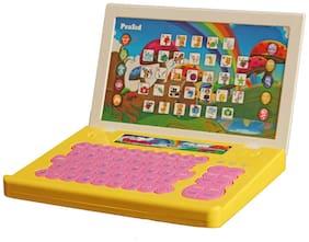 PraSid Kids English Teacher Computer Toy Educational Laptop Multicolor