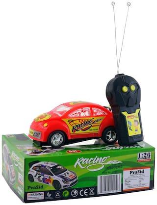 PraSid Remote Radio Control Car - Red