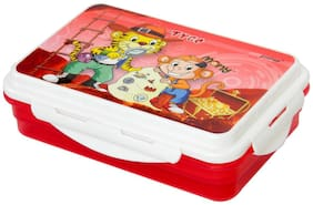 Pratap Executive Double Deckar Lunch Box Kids Design