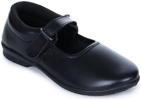 Liberty Black Girls School shoes