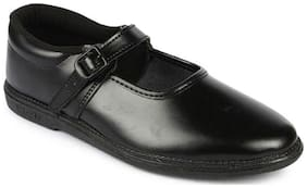 Liberty Prefect Black School shoes For Girls