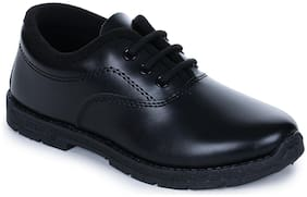 Prefect By Liberty Kids Black School Shoes