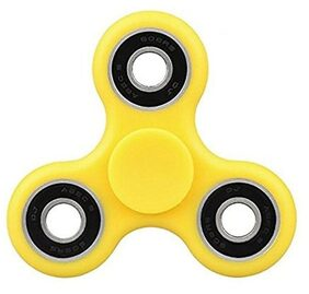 Premiuim Quality Fidget Hand Spinner Focus Toy For ADHD/Anti Stress&Anxiety(color may vary)