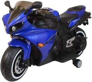 Premium Goods Pro Authentic Fit Bike Battery Operated Ride On  (Blue)