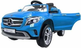 Premium Goods Pro Electric Rechargeable Blue Ride-on car - 4-6 years , Bis certified