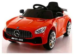 Premium Goods Pro Electric Rechargeable Red Ride-on car - 4-6 years , Bis certified