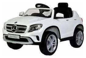 Premium Goods Pro Electric Rechargeable White Ride-on car - 4-6 years , Bis certified