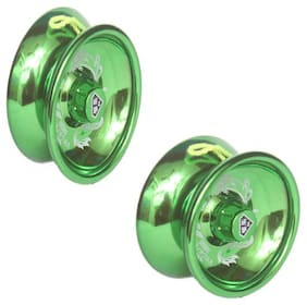 Combo Premium Quality Metal High Speed Toy Yoyo By Signomark Pack Of - 2