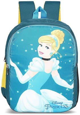 Priority Disney Cinderella 32 Liter Blue Kid's School Bag (Fairy 007)