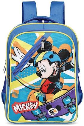 Priority Disney Mickey Mouse 32 Liter Blue Kid's School Bag (Alexa 0011)