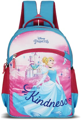 Priority Disney Princess School Bag Kids Casual Backpack for Girls Color Multi