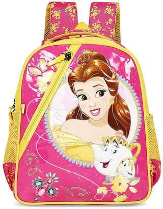 Priority Disney Belle 32 Liter Pink Kid's School Bag (Caramel 008)
