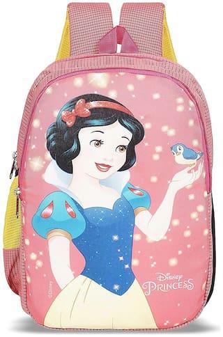 Priority Disney Snow White 32 Liter Pink Kid's School Bag (Fairy 007)