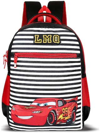 Priority Titan HD Cars Casual Backpack|Kids School Bag Color Multi