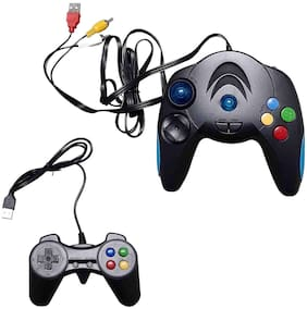 Ptc Mart 220 Battle Of;Tv Video Game Direct Av Inputs Usb With 2 Remotes For 2 Player Game;103000 Built In Games For Kids.