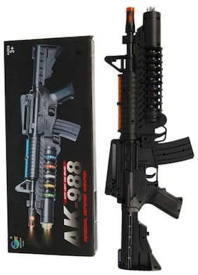 PTCMart AK-988 Personal Defense High Quality Reinforced Plastic Gun for Kids