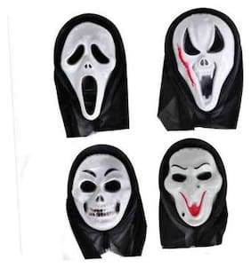 PTCMart Funny  Party mask Set of 4 Party Mask (Multicolor, Pack of 4)