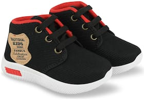 Pucandy Black Canvas shoes for boys