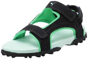 Puma Black Unisex Kids Sandals