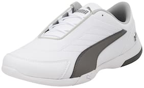Puma White Unisex Kids Casual shoes