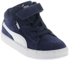 Puma Navy blue Casual Shoes For Infants