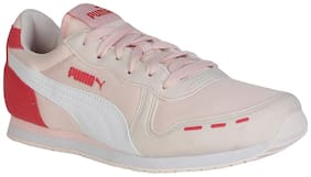 Puma Pink Casual Shoes For Girls