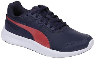 Puma Blue Casual Shoes For Girls