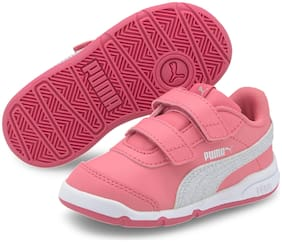 Puma Pink Girls Casual Shoes