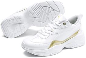 Puma White Girls Casual Shoes