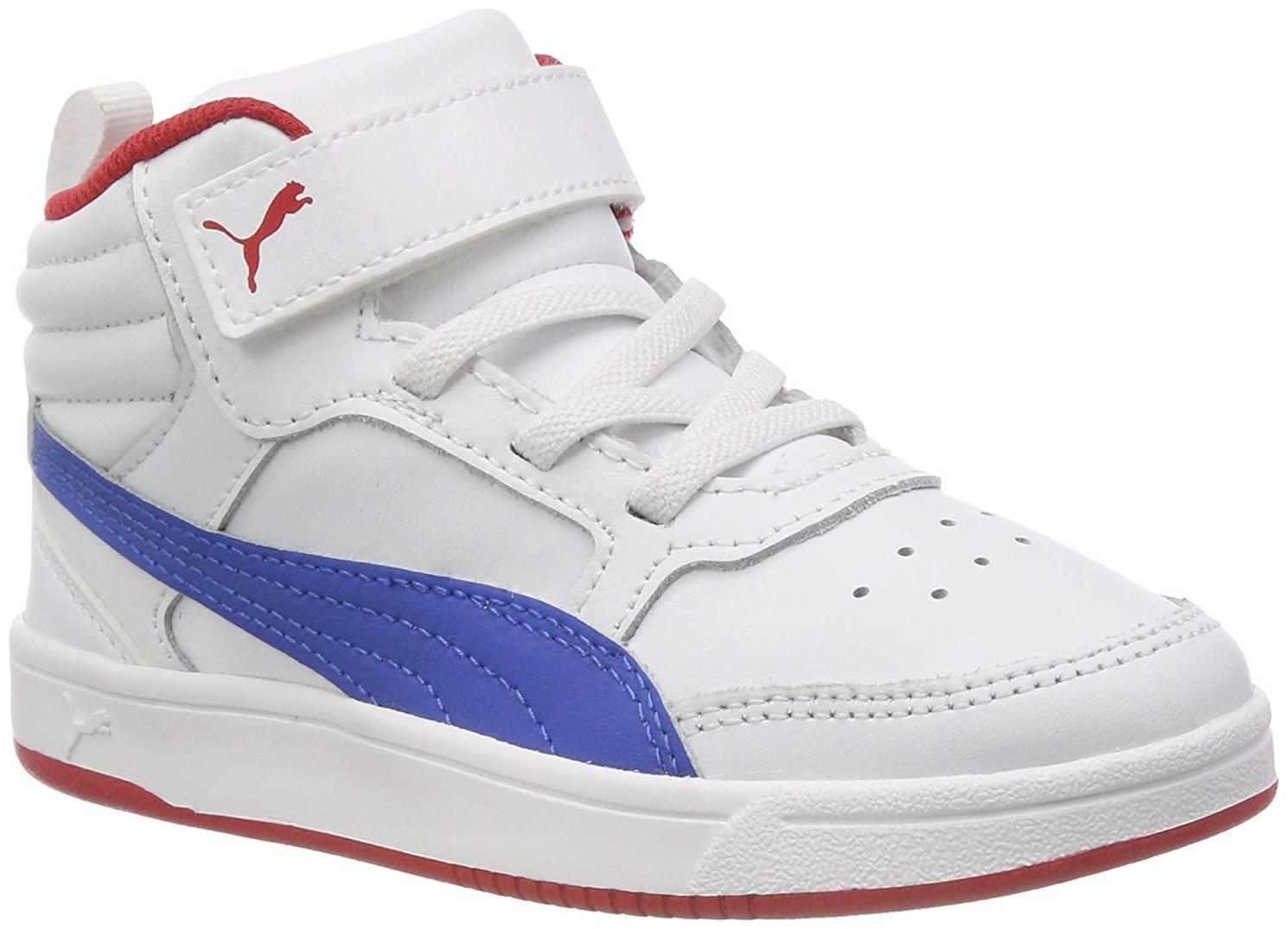Buy Puma White Canvas shoes for boys