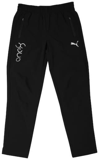 Puma Boy Polyester Track pants - Black